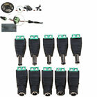 5/10/20pcs Male or Female 12V DC Power Supply Plug Jack Adapter Connector New