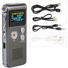 LCD 4GB Digital Audio Recorder Dictaphone 650Hr MP3 Rechargeable Spy F1Z3