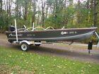 Alumacraft Lunker V16 aluminum fishing boat