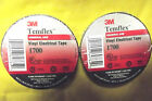 "3M , 2 ROLLS OF BLACK ELECTRIC TAPE 3/4"" X 60FT,1700 SERIES.5.4."