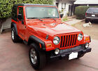 2006 Jeep Wrangler SE 2006 jeep wrangler  hard top 4 cyl. 6speed, fuel efficient rare impact orange