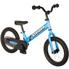 Strider 14x Sport Balance Bike - Blue - Kids  Learn to Ride with Pedal Kit, New