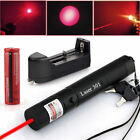 650nm Astronomy Military Tactical 5mW Red Laser Pointer Pen + Battery + Charger