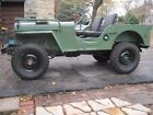 1946 Willys CJ2A  1946 Willys CJ2A early production vin #19935, column shift ,37848 original miles