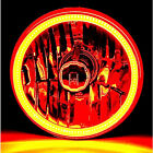 "5-3/4"" H5006/H5001 Amber COB SMD LED Halo Angel Eye Halogen Light Bulb Headlight"