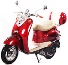 NEW under 50cc Moped 49cc Retro Vintage Gas Scooter Motor Bike 100% Street Legal