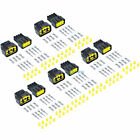 5 Kit 8 Pin 20-14 AWG Weatherproof Connector Terminal Socket Wiring Connector US