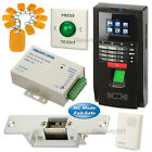 Fingerprint RFID Access Control System Kit Set + Electric Strike Lock NC Mode