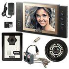 "ZOTER 8"" LCD Recording Video Door Phone House DIY Intercom w 700TVL CCTV Camera"