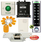DIY Access Controller RFID Key Ring Kit + Electric Strike Lock NO Fail Secure