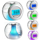 Digital Clock Night Light Music Alarm Snooze Mode Timer Temperature Nature Sound