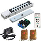 Access Control Outswinging Door 600lbs Electromagnetic Lock Kit With Remote Kit