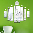 1PC Mirror Sticker DIY Wall Clock 3D Acrylic Removable Wall Stickers Home Art