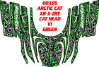 ARCTIC CAT SNOWMOBILE ZR, DECAL WRAP KIT CAT HEAD BASIC DECAL STICKER
