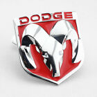 Big Red Car Front Grille Metal Rust-free Emblem Badge W/ Mount On For Dodge Ram