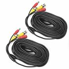 Surveillance DVR Kits A-ZONE PACK 100ft BNC Video Power Cable Security Camera