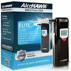Slim Elite Digital Breathalyzer, 3Mouthpieces Audible Dot, Sensor Counter Lcd
