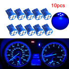 10Pcs T10 W5W 194 1210 4SMD LED Wedge Dashboard Gauge Cluster Light Bulb Blue li