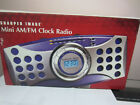 Sharper Image Mimi Digital Am/fm Clock Radio Alarm Gm107 # 9821