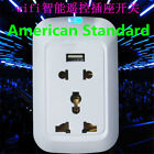 W9080I US WiFi Power Socket Plug Wireless Remote Control Smart Strip Socket H#
