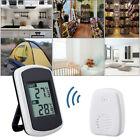Wireless Indoor Outdoor Digital Temperature Hygrometer Thermometer Gauge Meter