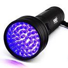 UV Ultraviolet LED Flashlight Black Light Security Detector for pet Dog stains