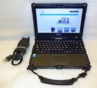 Getac V110 Tough Rugged Laptop tablet Touch Core i5 1.9GHz 4GB 128GB SSD Linux