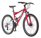 Mountain Bike Men's Cardio Health Fun Fast Dual Suspension Schwinn Red