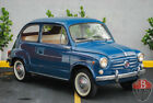 1962 Fiat 600 -- 1962 Fiat 600  88816 Miles Blue Coupe 4 Cylinder 4 Speed Manual