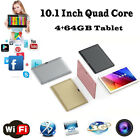 10.1'' Mic WIFI Android5.1 Octa Core 4G+64G Dual SIM Camera 3G Full HD Tablet PC