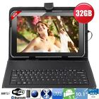 "32GB 10""Inch A83T OCTA Core Android Tablet Pc - Keyboard Bundle Google Play Hdmi"