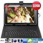 "32GB 10""Inch A83T OCTA Core Android Tablet Pc  Keyboard Bundle Google Play Hdmi"