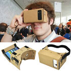 3D Google Cardboard Virtual Reality VR Glasses for Android Phone Movie Game DIY