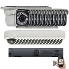 32Ch NVR 2592P 5MP PoE IP ONVIF Dome Bullet Security Camera OSD System 5TB HDD