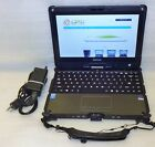 Getac V110 Rugged Laptop Touch Screen Core i5 1.9GHz 128GB SSD Linux webcam HDMI