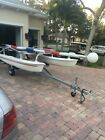 Aqua Cat 12.5 catamaran w/ new Wesco galvanized trailer