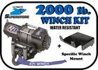 KFI 2000 lb. Winch Mount Kit '07-'12 Can-Am Renegade 500 / 800