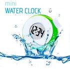NO Battery Digital Water Powered LCD Clock Eco-Friendly Mini r_c