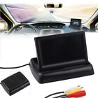 """4.3"""" TFT LCD Foldable Car Truck Reverse Rear View Reverse Video Color Monitor"""