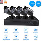 4CH 1TB 1080N DVR 720P Home Security Surveillance Camera System Outdoor Indoor