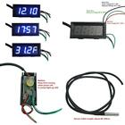 """Holdding Fahrenheit Scale °F 0.56"""" DC 12V Digital Car Clock Thermometer 3in1 LED"""