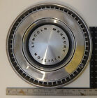 """?1971- 1972? LINCOLN MERCURY DIVISION HUBCAP WHEEL COVER 15"""""""