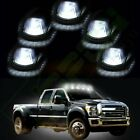 5X Cab Roof 15442 Marker Clearance Smoke Light w/Xenon White Led For 80-97 Ford