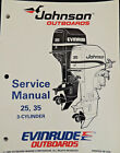1995 Johnson Outboards Service Manual 25 35 HP Evinrude
