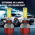 9006 LED HB4 Fog Headlight Conversion Kit 1050W 157500LM Low Beam Bulb White 2X