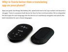 Travis AI Two Way Instant Digital Voice Translator 80 Languages