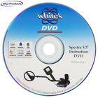 Whites Electronics V3i Metal Detector Instructional How-To DVD 601-1234-1