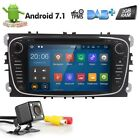 Android 7.1 for Ford Focus Dash Car Radio DVD Player GPS Quad Core Stereo OBD2 I