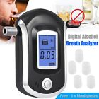 Digital LCD Police Breathalyzer Breath Test Alcohol Tester Analyzer Detector