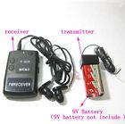 Wireless transmitter receiver Covert FM spy bug Audio Listening Device Ear